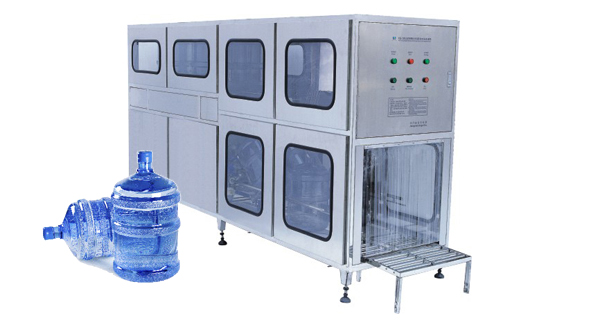 200BPH 3-5Gallon Water Bottling Equipment