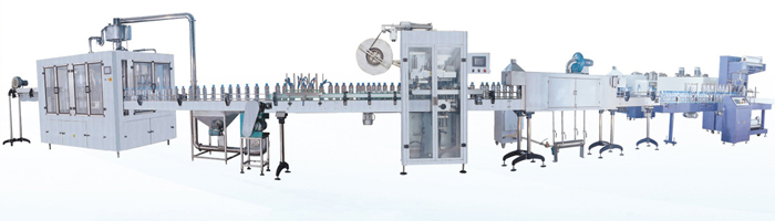 3000-5000BPH Automatic Water Bottling Line