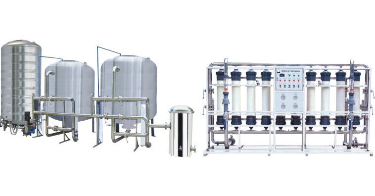 Mineral Water Purification system