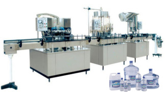 Plastic small bottle water washing,filling,capping machine,Automatic filling machine