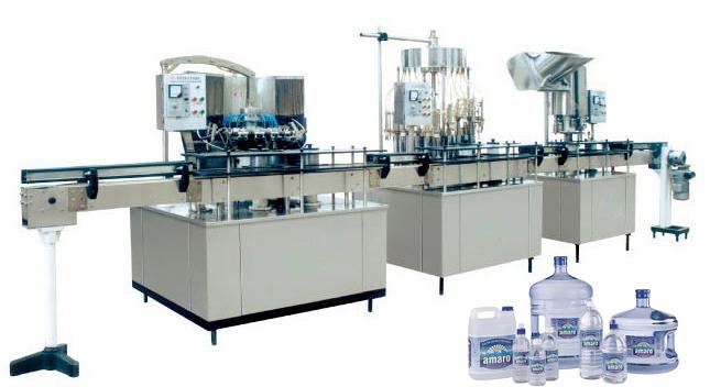Semiautomatic Water Bottling Machine
