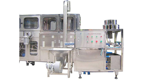 Washing Cap and Loader Cap Machine