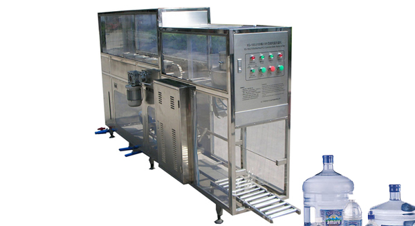 XG-100J (100 bucketsH) PLC-Controlled Microcomputer Auto Bottle Washer and Filler