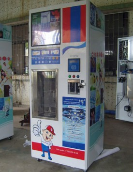 SAV-J RO WATER VENDING MACHINE